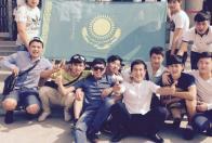 Студенты медицинского университета города Гуанджоу (Китай)