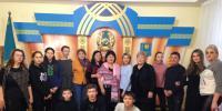 "International Festival ""Madeniet undestigi - Consonance of Cultures"" in Aktobe on December 1, 2017"