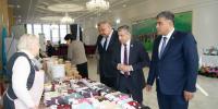 В Шымкенте на выставке «Народный бренд» представители различных этносов продемонстрировали свою продукцию