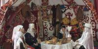MEMBERS OF MOTHERS'COUNCIL CONDUCTED KAZAKH RITES RELATED TO CHILDREN IN SHYMKENT