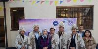 Алматыдағы уақытша бейімдеу орталығында спорттық-танымдық кездесу өтті