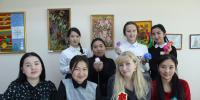 Көкшетау педколледжінің студенттері ілгекпен тоқудың қыр-сырын үйренді