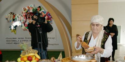 """Festival """"Kazakh tableware'"""