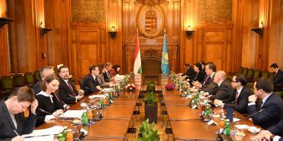 Астана мен Будапешт арасындағы байланыс стратегиялық маңызға ие