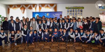 Победители проекта «100 новых лиц Казахстана» встретились с общественностью Коргалжынского района