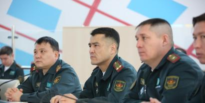 STATE AND LEGAL TRAINING SEMINAR FOR SERVICE MEMBERS WAS HELD AT PALACE OF PEACE AND RECONCILIATION