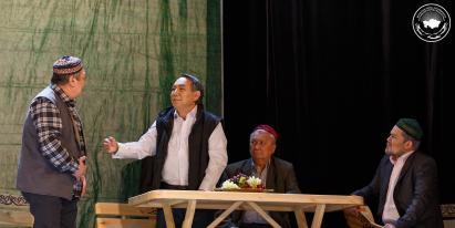 Ұйғыр театрының «Астана» драмалық спектаклі Елорда төрінде көрсетілді