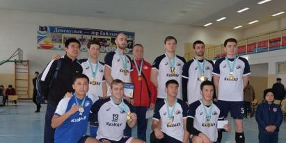 В Туркестанской области прошел международный турнир по волейболу