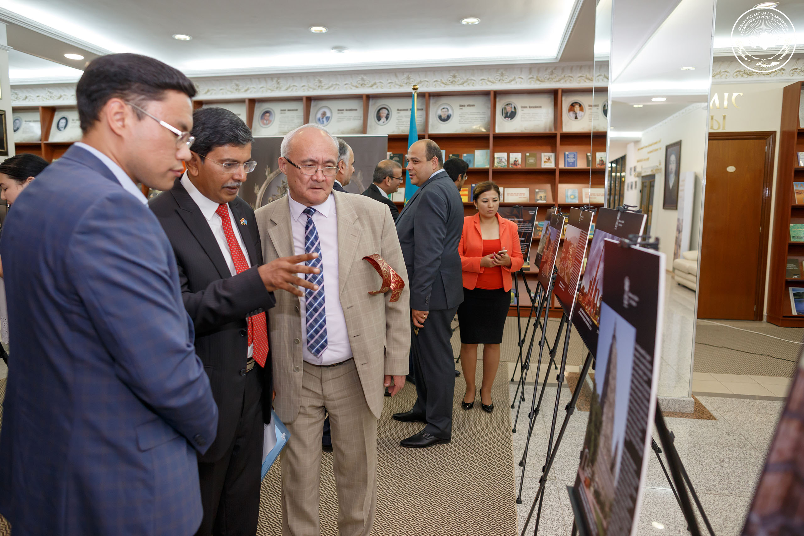 "Photo Exhibition ""Incredible India: An Enchanting Pluralistic Culture"" in NAL RK"
